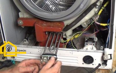تعویض المنت هیتر ماشین لباسشویی