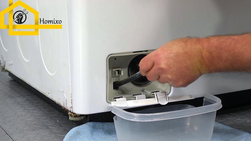 نحوه تعویض پمپ تخلیه ماشین لباسشویی