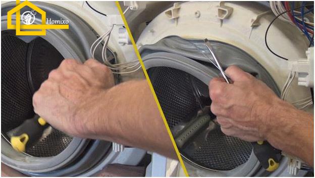 روش تعویض دیگ ماشین لباسشویی