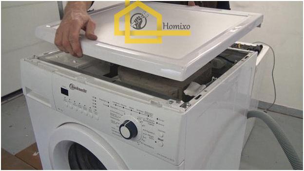 نحوه تعویض دیگ ماشین لباسشویی